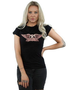 Aerosmith Women's Wing Logo T-Shirt