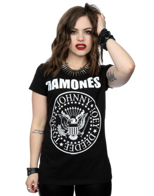 Ramones Women's Presidential Seal T-Shirt