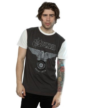 Aftershow Men's Saxon ESTD 1979 T-Shirt