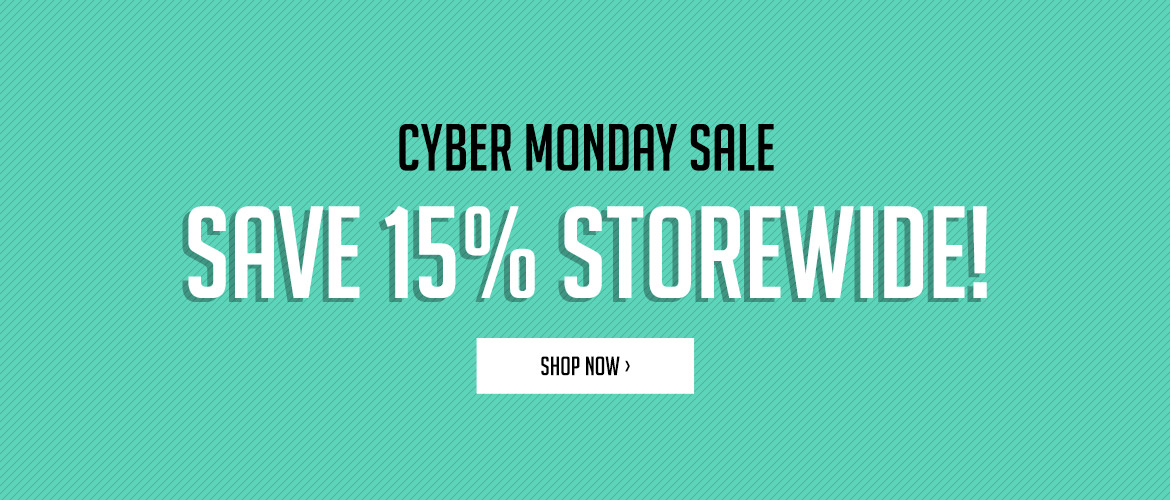 Save 15% Sitewide!