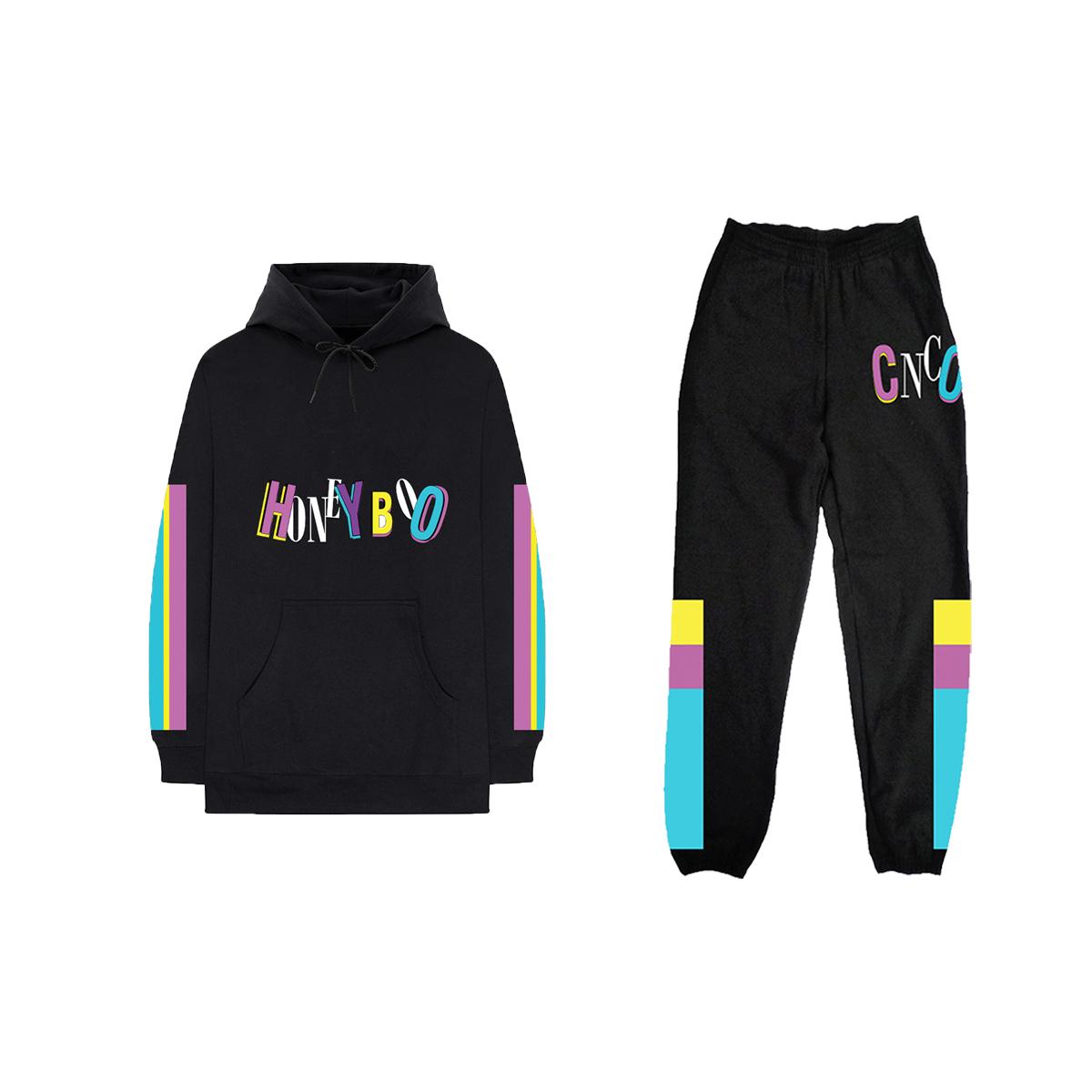Honey Boo Black Hoodie + Sweatpants Bundle