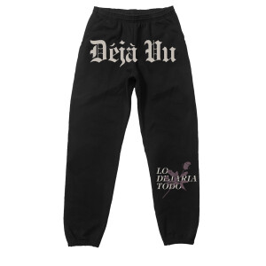 Déjà Vu Black Sweatpants