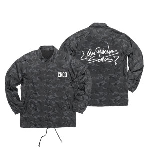 CNCO - Black Camo Coaches Jacket
