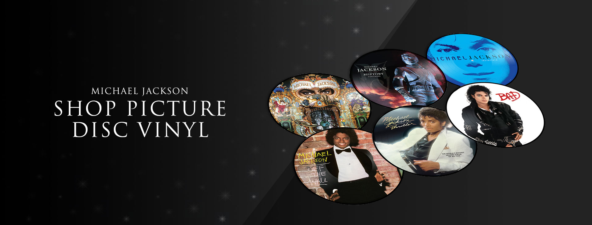 Shop Michael Jackson Picture Disc Vinyl