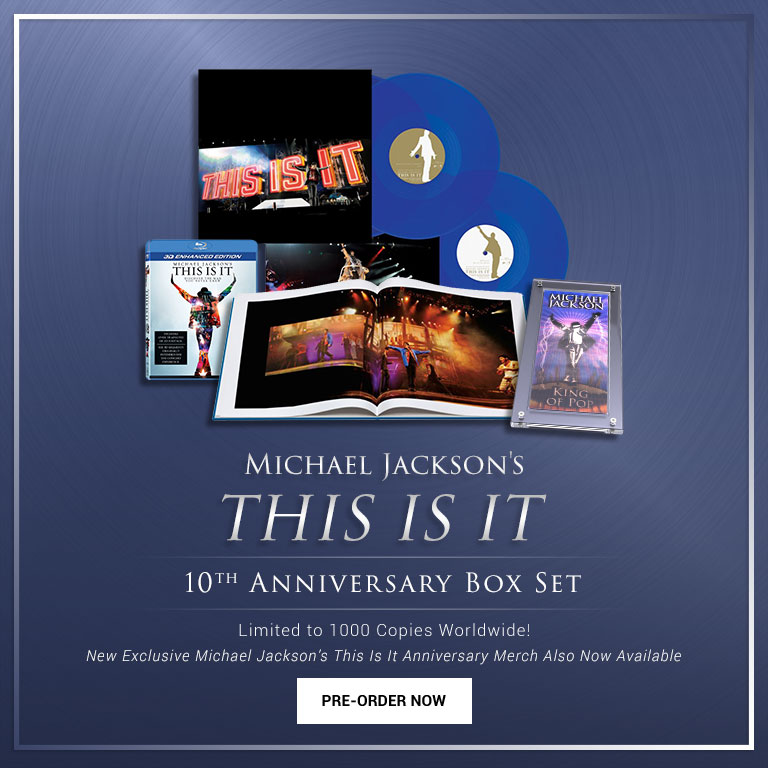 "Michael Jackson's ""This Is It"" 10th Anniversary Box Set 