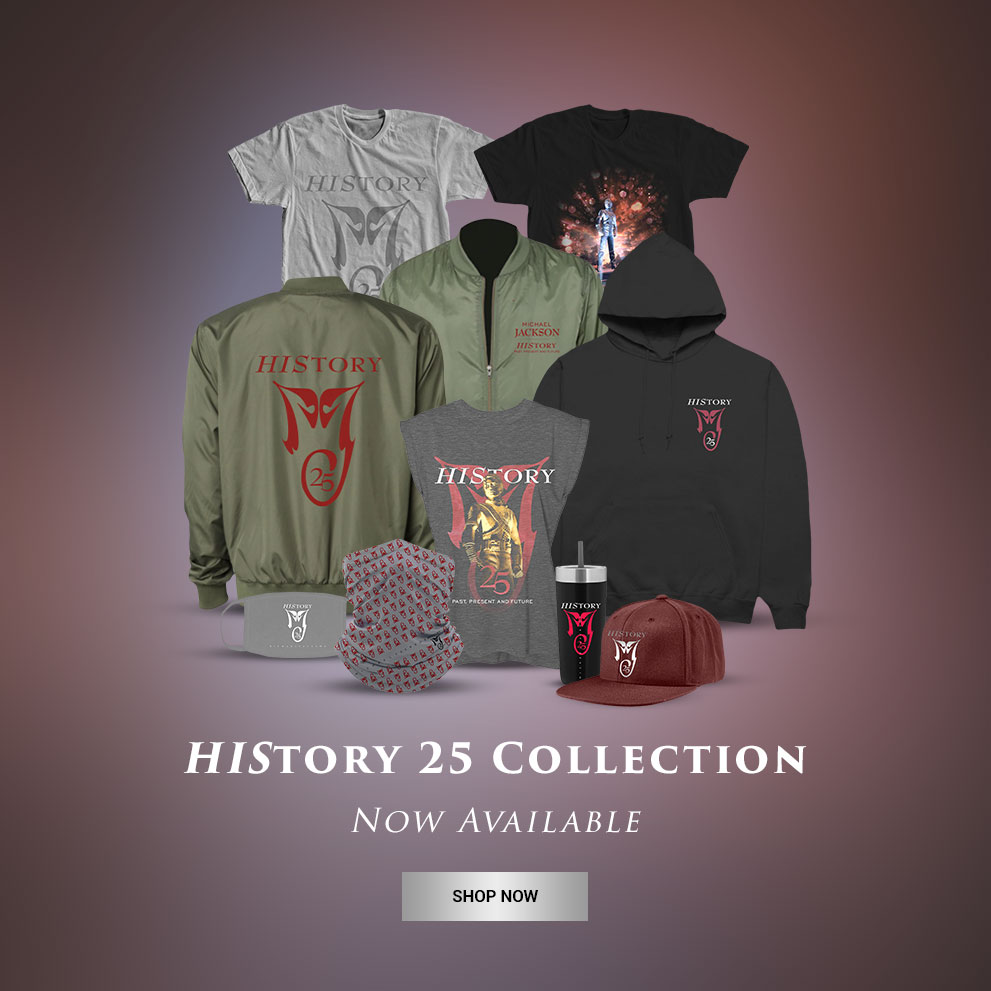 HIStory 25 Collection Available Now