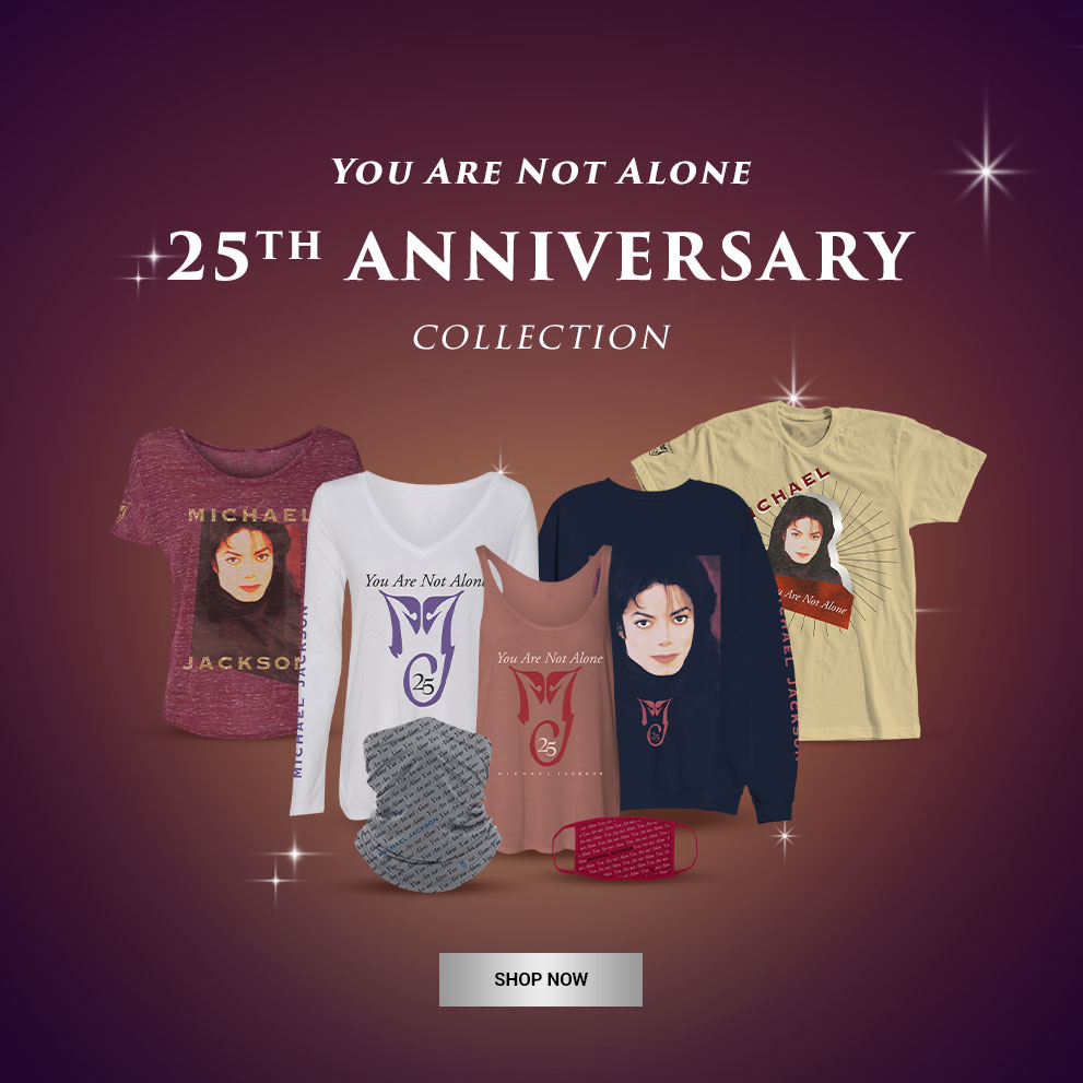 You Are Not Alone 25th Anniversary Collection | Shop Now!