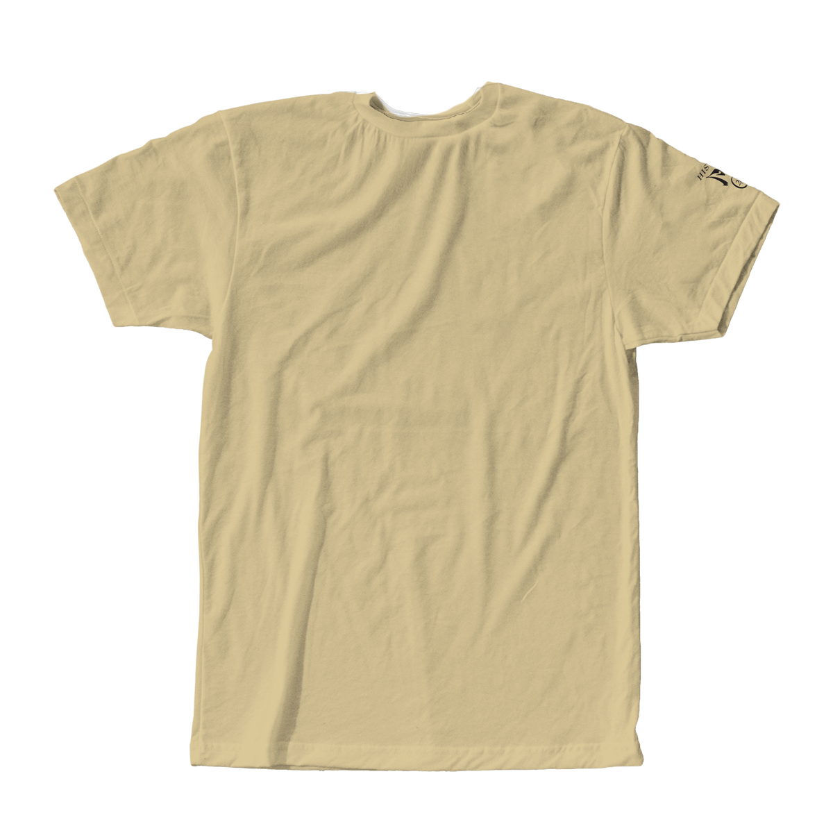 You Are Not Alone Tan Tee