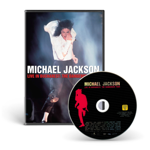 Live In Concert In Bucharest: The Dangerous Tour DVD