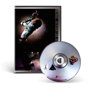 Michael Jackson Live At Wembley July 16, 1988 DVD