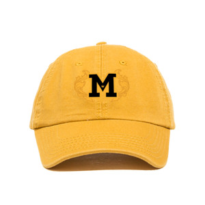 Embriodered M Adjustable Dad Hat