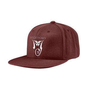 HIStory 25 Maroon Hat