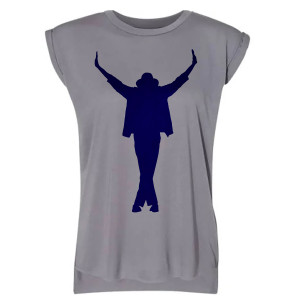 Michael Jackson's This Is It - Gray Sleeveless Tee