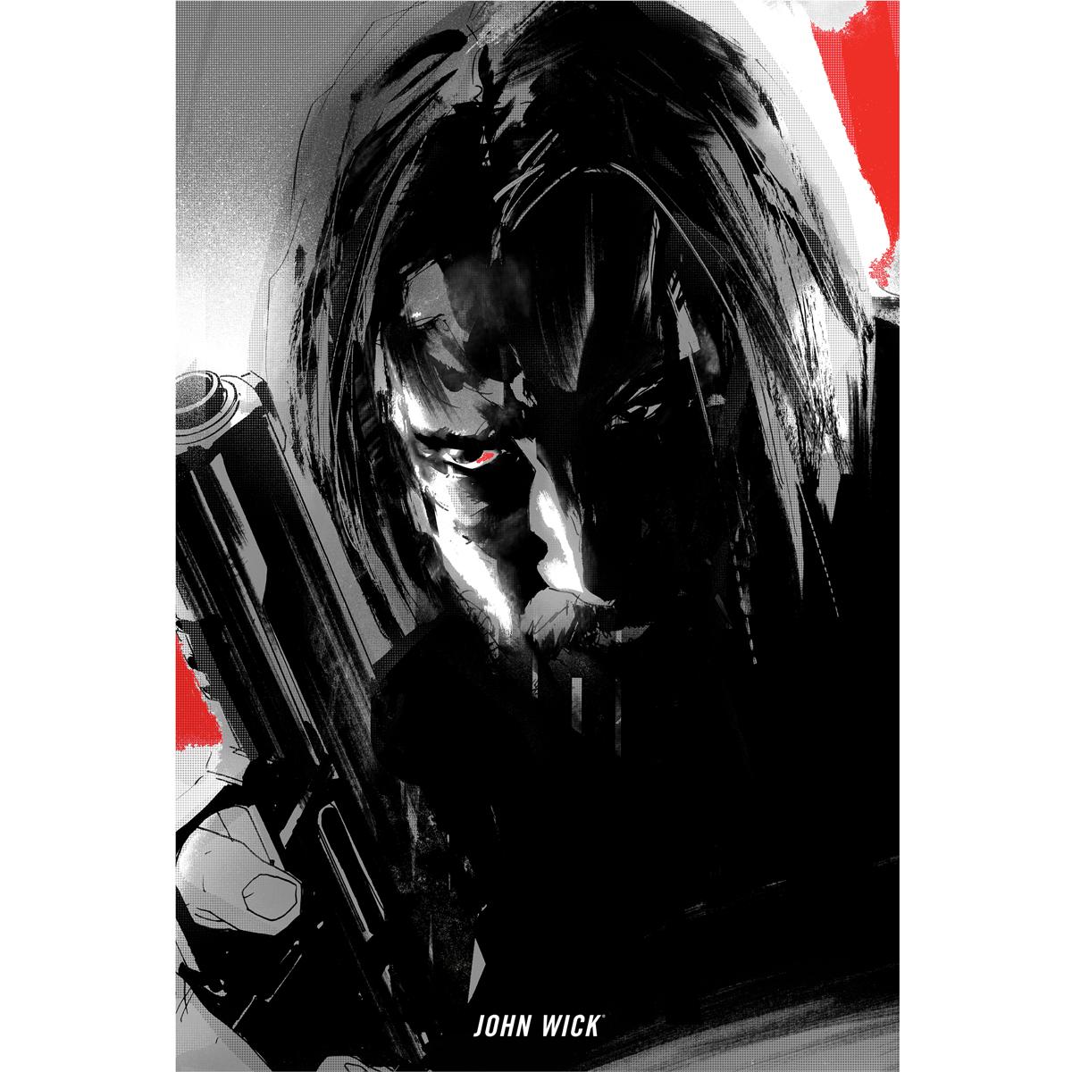 John Wick Reloaded Poster [18x24]