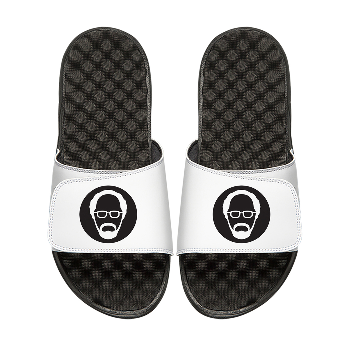 Uncle Drew Icon ISlide Sandals (White)