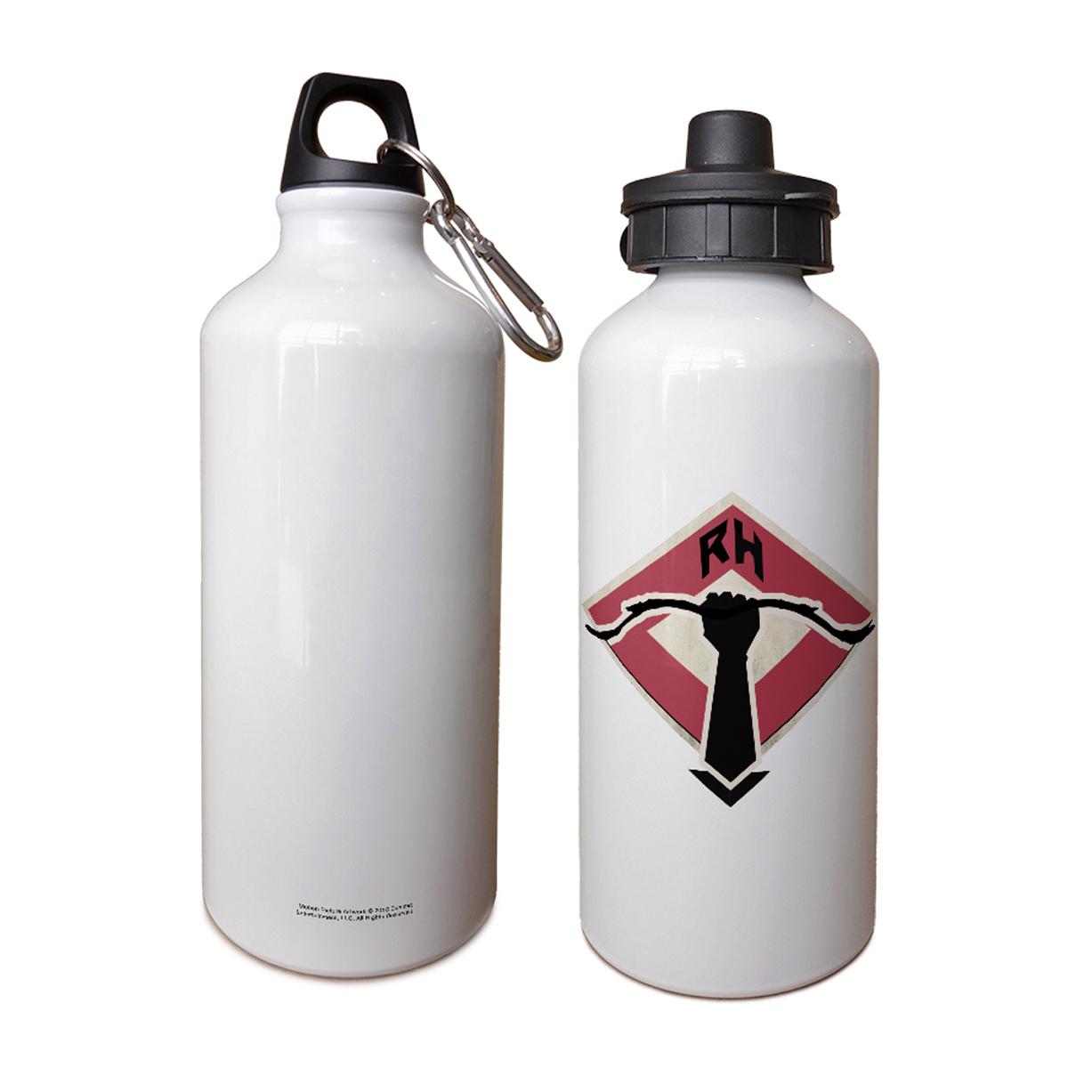 Robin Hood Logo Aluminum Water Bottle