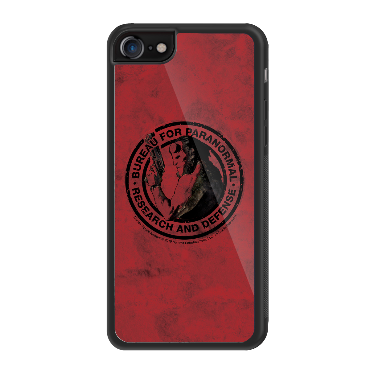 Hellboy Bureau for Paranormal iPhone Case