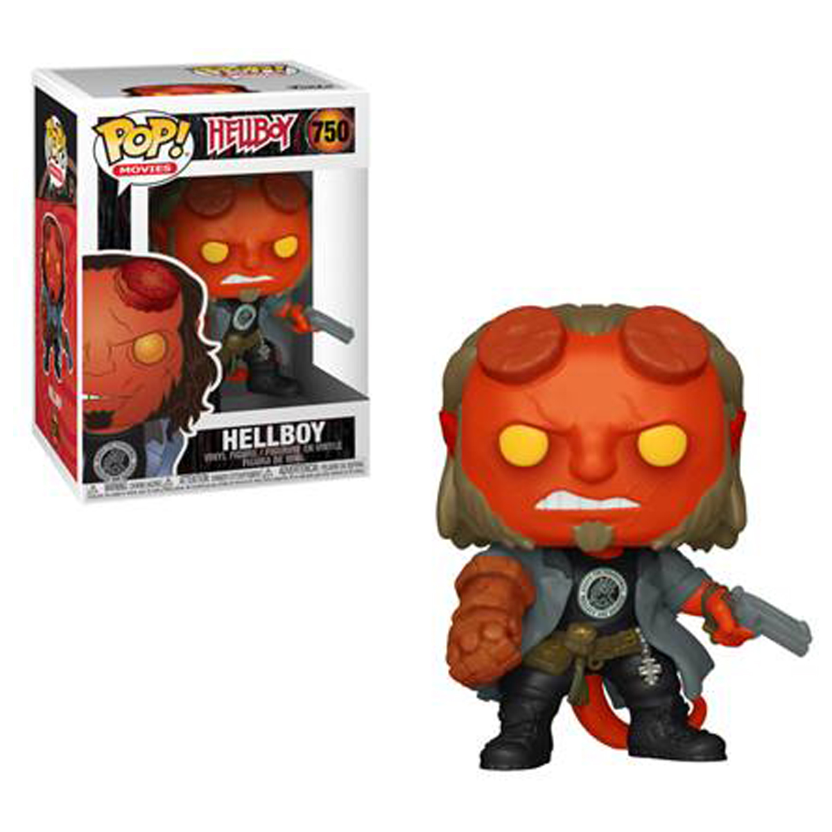 Funko POP! Movies: Hellboy - Hellboy Vinyl Figure