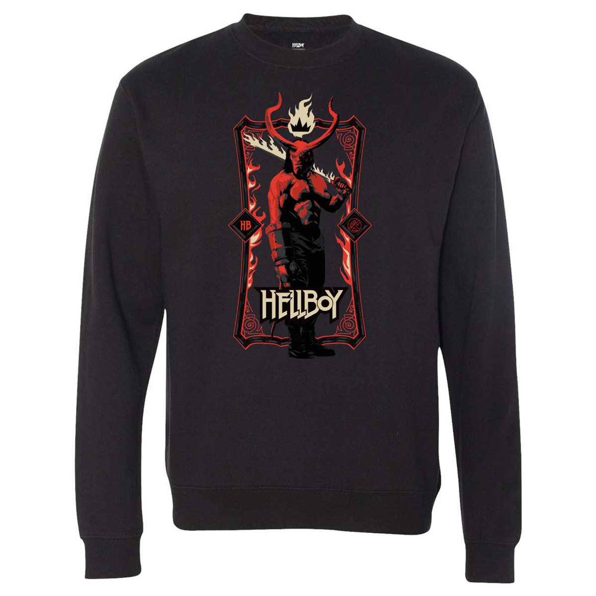 Hellboy Heavy Metal Crewneck Sweatshirt