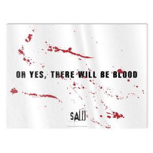 Saw Blood Cutting Board