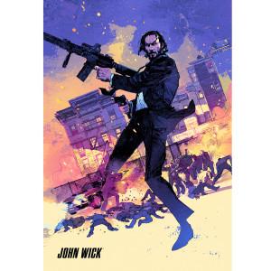 John Wick Giclee Poster (18x24)