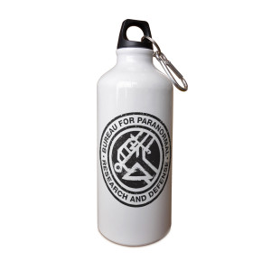 Hellboy Bureau for Paranormal Aluminum Water Bottle