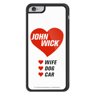 John Wick Checklist iPhone Case