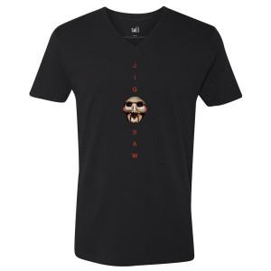 Saw Jigsaw V-Neck T-Shirt