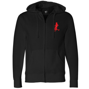 Saw Live Or Die Zip Up Hoodie