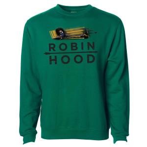 Robin Hood Arrows Logo Crewneck Sweatshirt
