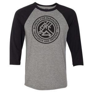 Hellboy Bureau for Paranormal Raglan T-Shirt
