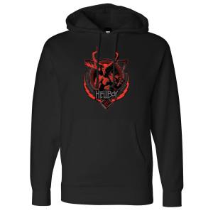 Hellboy Heavy Metal Pullover Hoodie