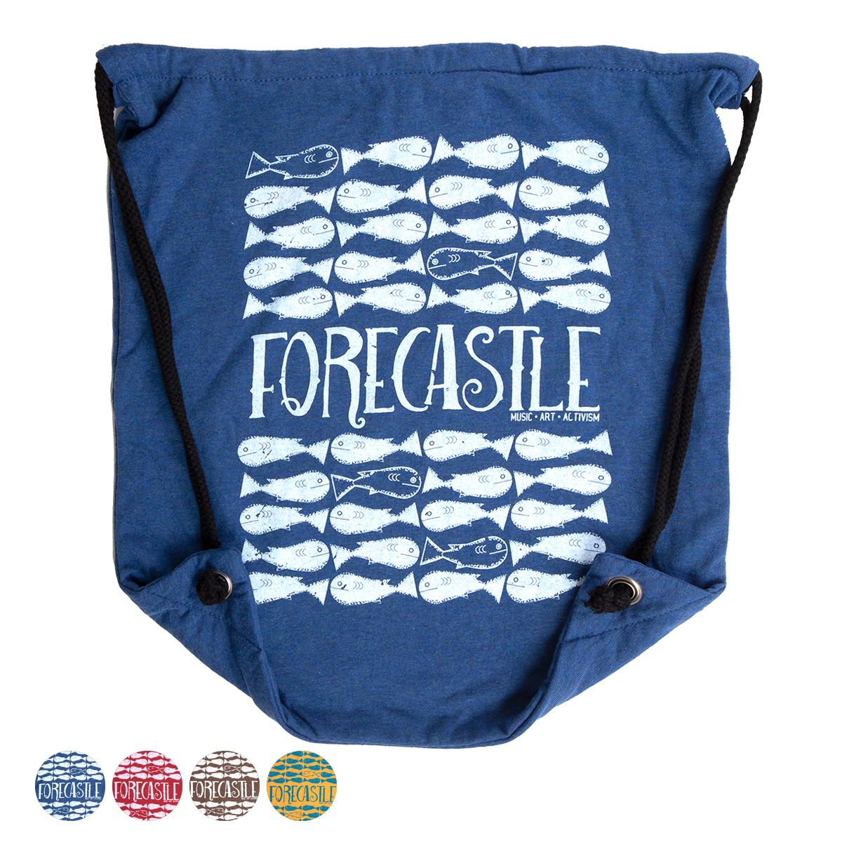 Forecastle Fish Drawstring Bag