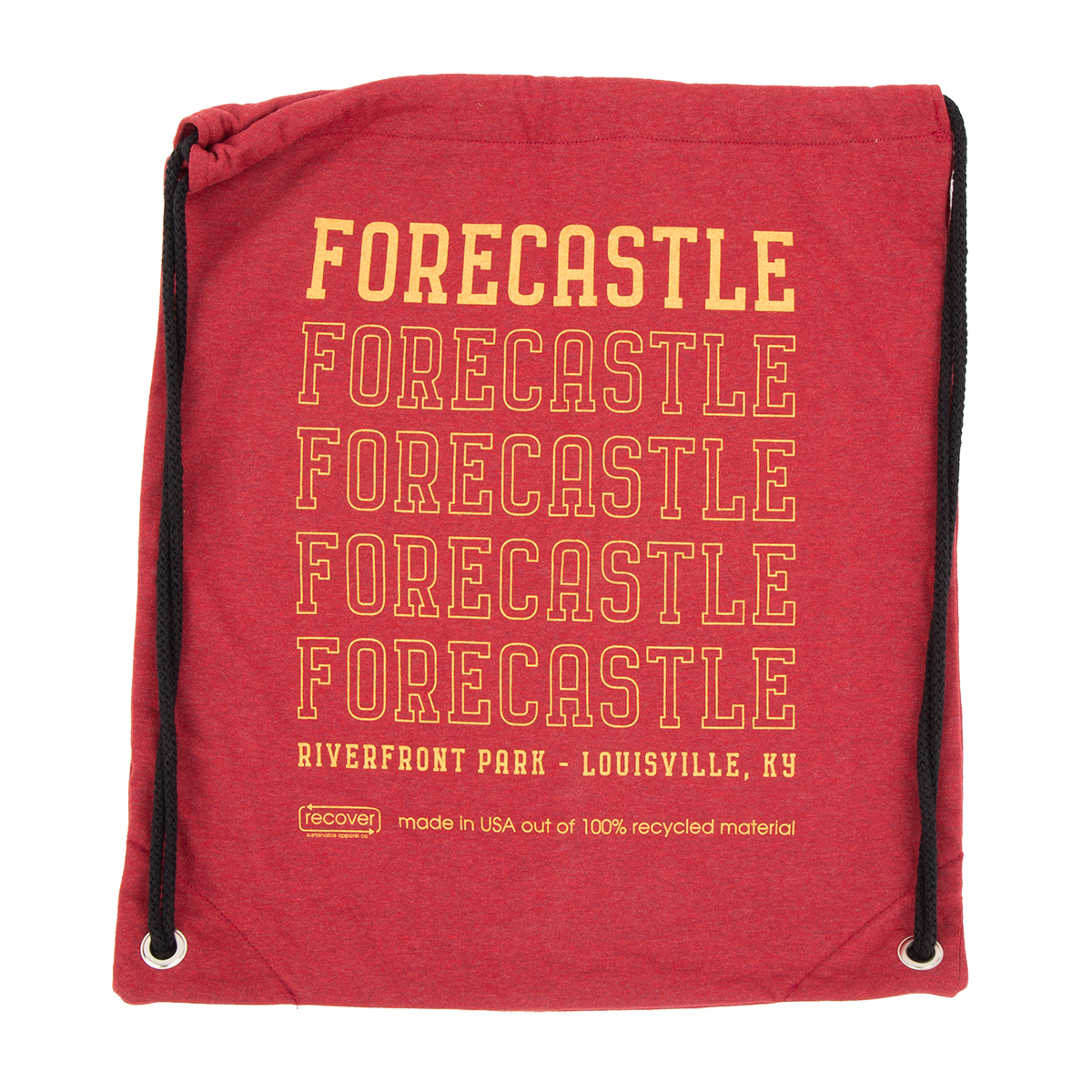 Forecastle 2019 Drawstring Bag - Red