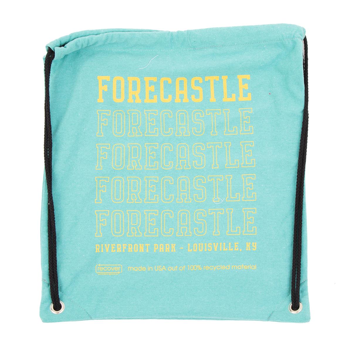Forecastle 2019 Drawstring Bag - Aqua