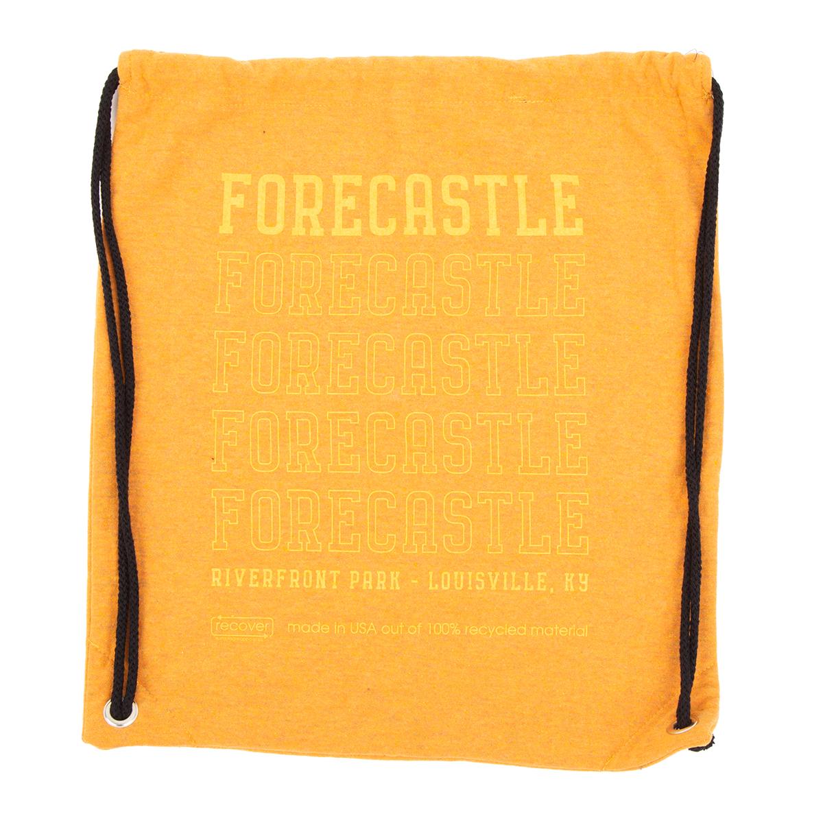 Forecastle 2019 Drawstring Bag - Orange