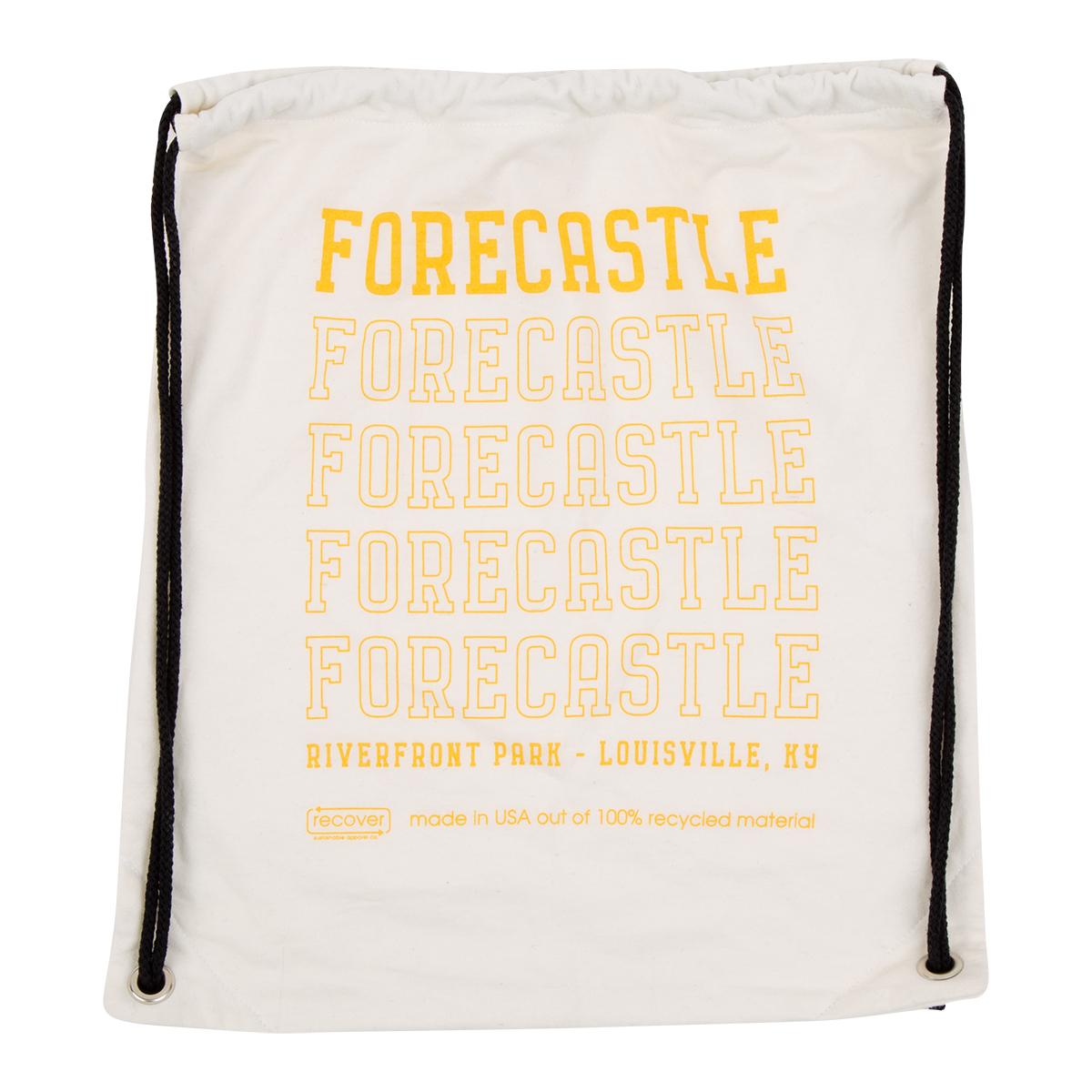 Forecastle 2019 Drawstring Bag - Natural