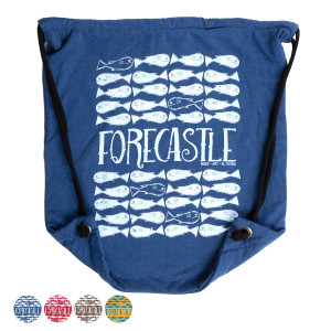 Forecastle Fish Drawstring Bag