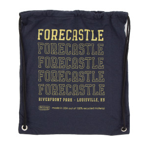 Forecastle 2019 Drawstring Bag - Navy