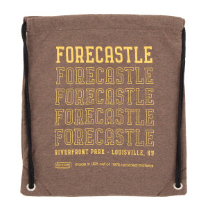 Forecastle 2019 Drawstring Bag - Brown