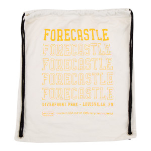 Forecastle 2019 Drawstring Bag - Natural