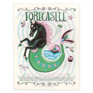Forecastle Horse Poster