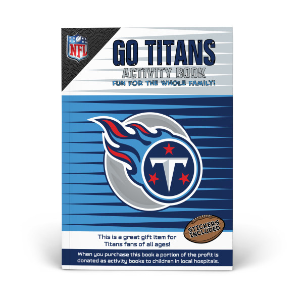 Tennessee Titans Activity Book | Shop the In The Sports Zone
