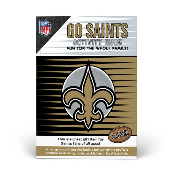 online retailer 21e53 b8d69 New Orleans Saints Activity Book | Shop the In The Sports ...
