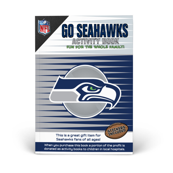 quality design b4f02 32a45 Seattle Seahawks Activity Book   Shop the In The Sports Zone ...