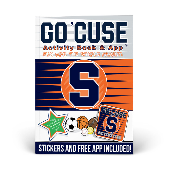 Syracuse Orange Activity Book  34a5e404e6d1