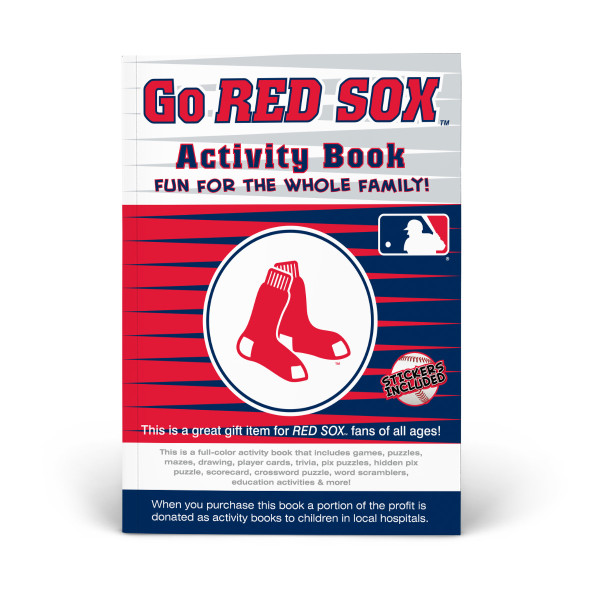 Boston Red Sox Activity Book | Shop the In The Sports Zone