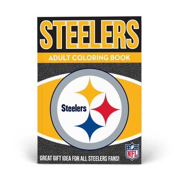 competitive price 858a8 b881e Pittsburgh Steelers Adult Coloring Book | Shop the In The ...