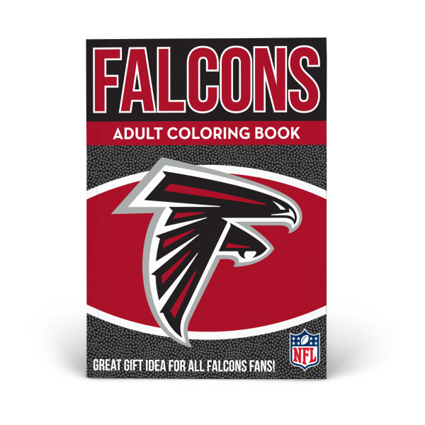 check out 27048 4d4f3 Atlanta Falcons Adult Coloring Book | Shop the In The Sports ...