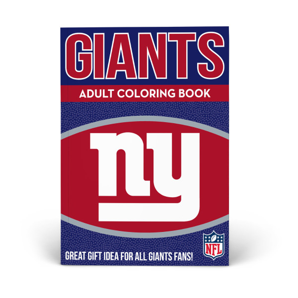 premium selection ca404 821f0 New York Giants Adult Coloring Book   Shop the In The Sports ...